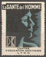 France  - Publicity Lyon Health  Center - Commemorative Labels