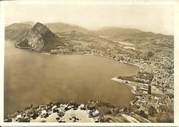 Lugano (Ticino, Svizzera) Kulm Terasse E Monte Brè, Veduta Aerea, Aerial View, Vue Aerienne - TI Tessin
