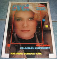 Catherine Deneuve - SVET - Yugoslavia May 1986 VERY RARE - Books, Magazines, Comics