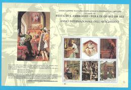 Erinnofilo 1983 ANFE Festa Di S. Ambrogio Fiera Di Oh Bej Oh Bej Milano - Erinnofilia