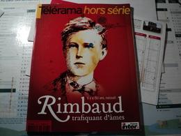 TELERAMA HORS SERIE DE NOVEMBRE 2004. RIMBAUD PHILIPPE BESSON / LE CIEL DE PARIS / JMG LE CLEZIO / - Livres, BD, Revues