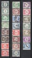 SERIE 1922 1938 / AVEC NUANCE DE TEINTE NMR 32 A 48  (SAUF NMR 39) - Briefmarken