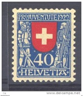 Suisse  -  1922  :  Yv  191  ** - Pro Juventute