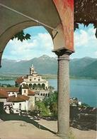 Locarno (Ticino, Svizzera) Orselina, Basilica Santuario Madonna Del Sasso - TI Tessin