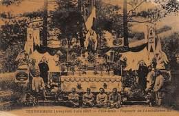 TOURNEMIRE : Juin 1917, Fete-dieu, Reposoir De L'ambulance 23 - Etat - France