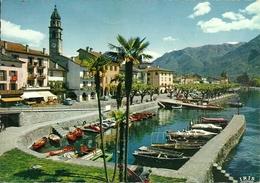 Ascona (Ticino, Svizzera) Lago Maggiore, Darsena, Porto, Porticciolo, Petit Port, Little Harbour - TI Tessin