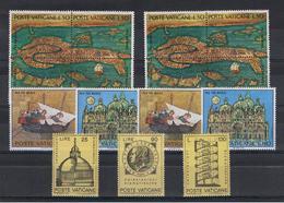 VATICANO:  1972  COMMEMORATIVI  -  3 S. CPL. N. -  SASS. 515/23 - Vaticano