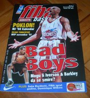 Charles Barkley Houston Rockets FIBA BASKET Yugoslavian December 1997 ULTRA RARE - Books, Magazines, Comics