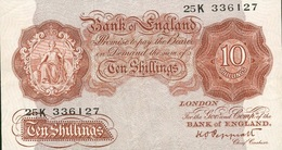10 SHILLINGS 1940 - …-1952 : Ante Elizabeth II