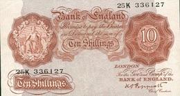 10 SHILLINGS 1940 - 10 Schillings