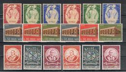 VATICANO:  1969/70  COMMEMORATIVI  -  11 S. CPL. N. -  SASS. 467//494 - Vaticano