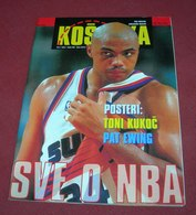 Charles Barkley Phoenix Suns KOSARKA Croatian November 1994 VERY RARE - Books, Magazines, Comics