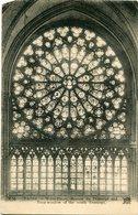 PARIS - NOTRE-DAME, ROSACE DU TRANSEPT SUD. POSTAL CPA POSTALE CIRCULE CIRCA 1910's - LILHU - Notre Dame De Paris