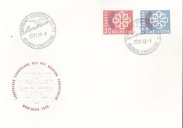 SVIZZERA - 1959 - Europa - FDC. - FDC