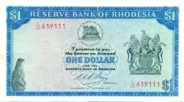 1 DOLLAR 1973 - Rhodésie