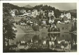 Arosa (Grisons, Svizzera) Ob Untersee, Scorcio Panoramico, Riflessi Nel Lago, Panoramic View - GR Grisons