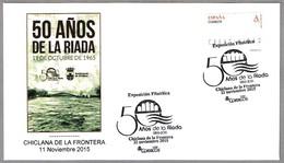 50 AÑOS DE LA RIADA - 50 Years Of The Flood. Chiclana De La Frontera, Cadiz, Andalucia, 2015 - Geología