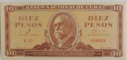 Billet De Cuba 10 Pesos 1961 Pick 96a Neuf/UNC Signé Par Le Che - Cuba