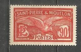 SAN PEDRO Y MIQUELON YVERT NUM. 129 NUEVO SIN GOMA - Nuevos