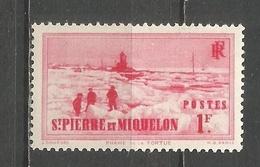 SAN PEDRO Y MIQUELON YVERT NUM. 181 ** NUEVO SIN FIJASELLOS - St.Pierre Et Miquelon