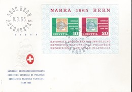 Svizzera - 1965 - NABRA - BF20 - Busta FDC. - FDC