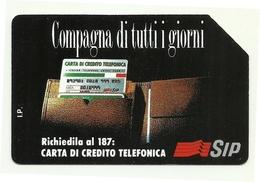 Italia - Tessera Telefonica Da 2.000 Lire N. 217 - Compagna Di Tutti I Giorni - Italia