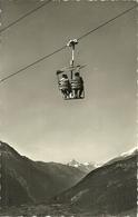 Zermatt (Valais, Svizzera) Sesselbahn Zermatt - Sunnegga, Bietschhorn, Seggiova - VS Valais
