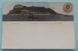 Gibraltar, Panoramic View Of The Rock From The Commercial Mole, 1910 - United Kingdom
