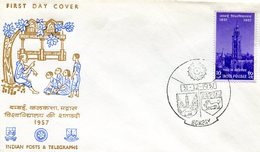 INDIA 1957 FDC Posts & Telegraphs.BARGAIN.!! - FDC