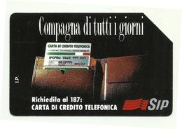 Italia - Tessera Telefonica Da 5.000 Lire N. 218 - Compagna Di Tutti I Giorni - Italia