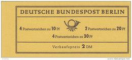 BERLIN  MARKENHEFTCHEN  MH 5 A, Postfrisch **, Brandenburger Tor 1966 - Berlin (West)