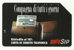 Italia - Tessera Telefonica Da 10.000 Lire N. 219 - Compagna Di Tutti I Giorni - Italia