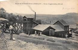 SAINT-GEORGES-de-LUZENCON : Usine D'agglomérés, Coté Sud, Mines - Tres Bon Etat - France
