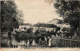 RAMBERVILLERS (88) La Mortagne Prise Des Battants - Carte Postée - Rambervillers
