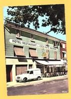 """Carte Postale Couleur """" Hôtel-Restaurant De La Côte Rotie """" à AMPUIS - France"""
