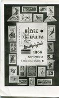 BELYEG KIALLITAS BERETTYOUJFALU 1966. POSTALE CIRCULE 1966 MAGYAR TO CANADA - LILHU - Hungría