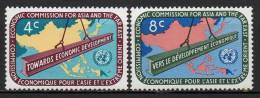 Nations Unies (New-York) - 1960 - Yvert N° 76 & 77 ** - New-York - Siège De L'ONU