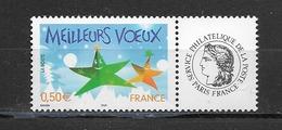 France  2004 Neuf *   Feuillet De 5  Timbres  3722A    Logo  Ceres -  Meilleurs Voeux -  ( Gomme Brillante ) - Personalisiert