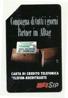 Italia - Tessera Telefonica Da 5.000 Lire N. 24 - Compagna Di Tutti I Giorni - Alto Adige - Italie