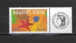 France  2004 Neuf *   Feuillet De 5  Timbres  3724A    Logo  Ceres -  Meilleurs Voeux -  ( Gomme Brillante ) - Frankreich