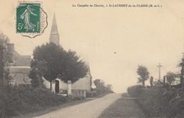 St-Laurent-de-la-Plaine.  La Chapelle De Charité - France