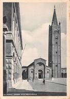"""0422 """"FORLI' - CHIESA DI SAN MERCURIALE"""" ANIMATA. CART. ORIG. SPED. 1958 - Forlì"""