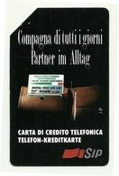 Italia - Tessera Telefonica Da 10.000 Lire N. 25 - Compagna Di Tutti I Giorni - Alto Adige - Italie