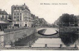 35. Rennes. Les Quai. Vue Générale - Rennes