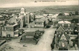 80. CPA. BRIGHTON PLAGE.  Vue Générale, Panneau Colonie Scolaire De La Somme. - Autres Communes