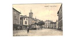 LEZOUX .... PLACE DU PILORI - France