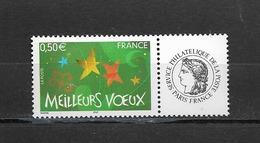 France  2004 Neuf **  Feuillet De 5  Timbres  3724A    Logo  Ceres -  Meilleurs Voeux -  ( Gomme Brillante ) - France