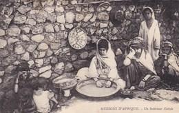 Algérie - Missions D'Afrique - Un Intérieur Kabyle - Algérie