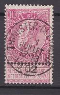 N° 58 Défauts  THIMISTER CLERMONT  COBA  +8.00 - 1893-1900 Fine Barbe