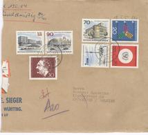 Lorch Wurtt - Front Of Registered Envelope - Einschreiben - Recommandé - Nachname - Remboursement  - See Stamps - [7] République Fédérale